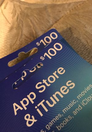 iTunes card for Sale in Hayward, CA