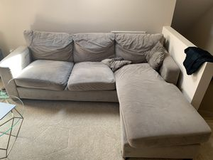 Brown sectional couch for Sale in Issaquah, WA