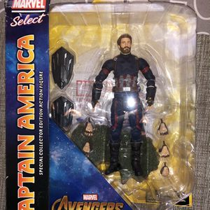 "Diamond Marvel Select Captain America Infinity War 7"" Figure New for Sale in Las Vegas, NV"
