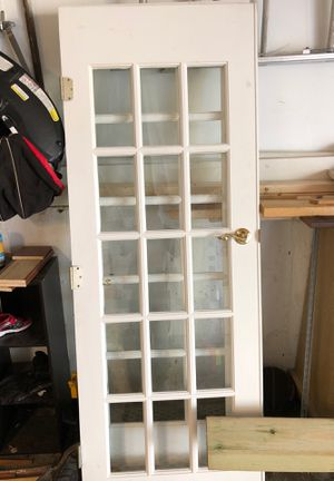 French doors 30x80 glass included for Sale in Bolingbrook, IL