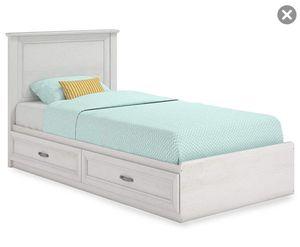 Ameriwood Magnolia Oak White Twin Mates Storage Bed for Sale in Chicago, IL