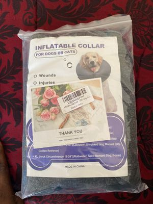 XL INFLATABLE COLLAR! Dogs or cats for Sale in Sacramento, CA
