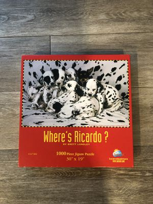 1000 piece puzzle for Sale in Rancho Cordova, CA