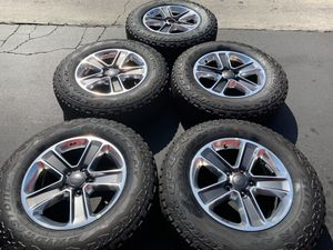 """5) 18"""" JEEP WHEELS AND TIRES for Sale in Santa Ana, CA"""