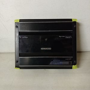 Kenwood Excelon X500-1 Car Audio Amplifier for Sale in Grove City, OH