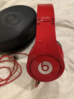 Beats by Dre Studio Red for Sale in San Francisco, CA