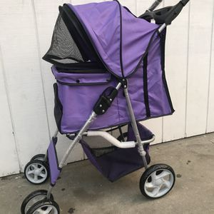 PURPLE DOG STROLLER for Sale in Torrance, CA