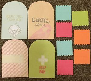 Mini Pocket Envelopes with Mini Notecards for Sale in Hemet, CA