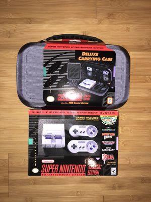 SNES classic Mini Nintendo Bundle for Sale in Philadelphia, PA