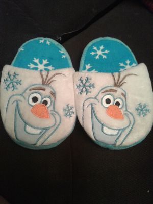 Toddler Olaf slippers for Sale in Dallas, TX