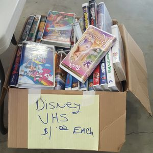 Disney VHS tapes for Sale in Leavenworth, WA