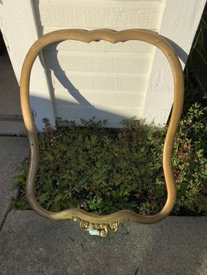 Large Vintage Carved Wood Frame For Project or Prop for Sale in Pinole, CA