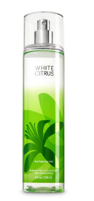 Bath And Body Works White Citrus Fine Fragrance Mist 8oz for Sale in Brooklyn, NY
