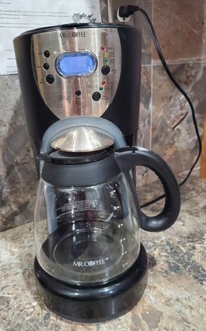 MR. COFFEE 12 CUP COFFEE MAKER BREWER model ISX43-1 for Sale in Brooklyn, NY