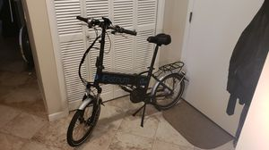 Folding Electric Platinum Mid-Drive eBike - only 107 miles for Sale in Seattle, WA