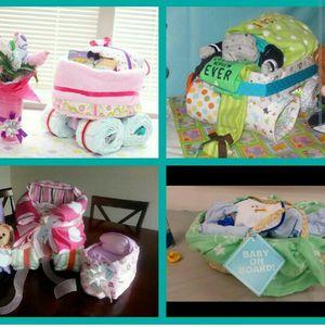 Diaper cake carriage for Sale in Ashburn, VA