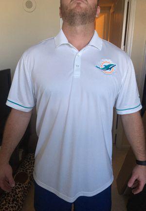 Men's XXL Dolphins Nike Dri-Fit Polo for Sale in West Palm Beach, FL