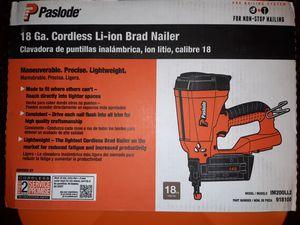 Brad Nailer - cordless for Sale in Oklahoma City, OK