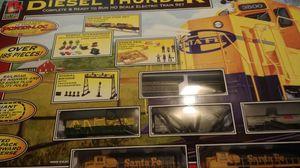 Diesel Thunder electric train set for Sale in Ballinger, TX