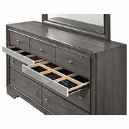 NEW, Grey Dresser, Hidden drawers on case pieces (silver panel camouflage), SKU#TCB4650D for Sale in Westminster,  CA