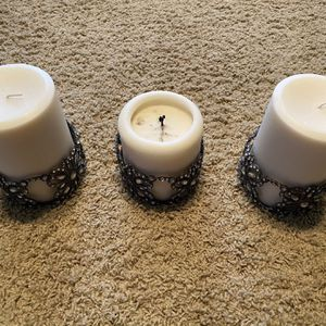 Candle Holders With Candles for Sale in Gilbert, AZ