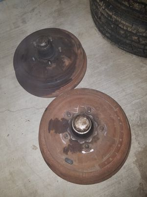 1959-1960 CADILLAC NICE FRONT BRAKE DRUMS coupe deville ELDORADO for Sale in Whittier, CA