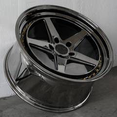 18x8.5 or 9.5 new blk chrome 5x114.3 5x100 rims set for Sale in Hayward, CA