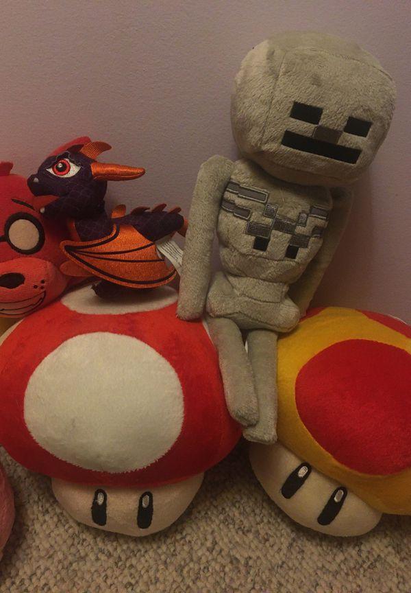 Video Game Plushies