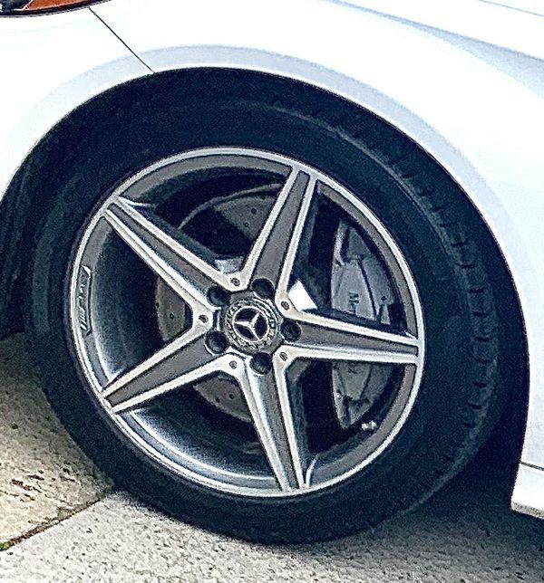 AMG Wheels (Set of 4) 18in