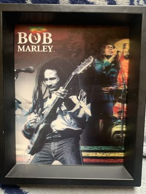 Bob Marley picture in frame for Sale in Carmichael, CA