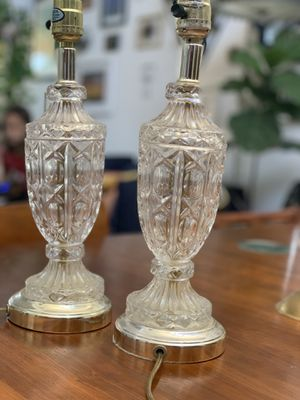 Gorgeous Vintage Crystal Lamps for Sale in Carlsbad, CA
