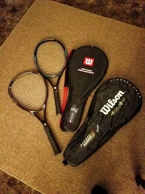 Wilson tennis rackets for Sale in Denver, CO