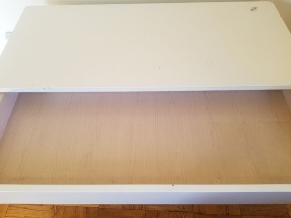 White 4 Drawer Dresser