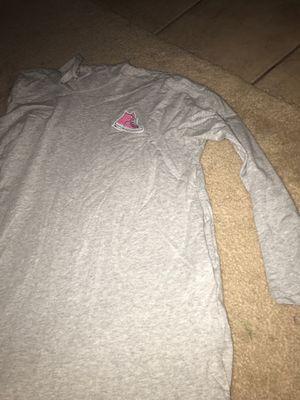 Gray long sleeve hoodie for Sale in Fontana, CA