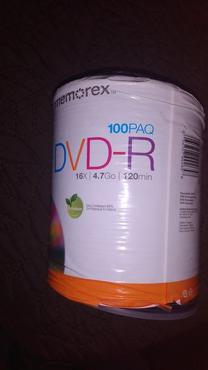 DVD-R 100 count for Sale in San Jose, CA