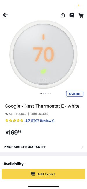 Best Thermostat for Sale in Fresno, CA