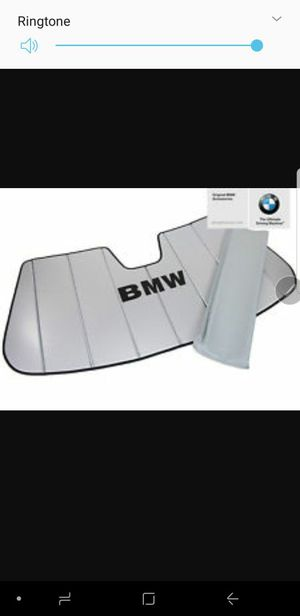 OEM BMW Sunshade for 328i (2007-2012) for Sale in Birmingham, MI