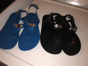Michael Kors jelly sandals both for Sale in Calipatria, CA