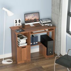 Computer Desk with Cabinet and Shelves for Sale in Diamond Bar,  CA