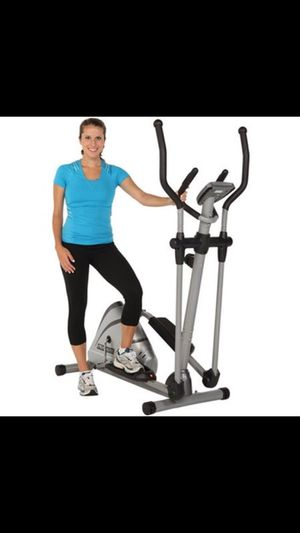 Title: Exerpeutic 1000XL High Capacity Magnetic Elliptical with Pulse for Sale in Houston, TX