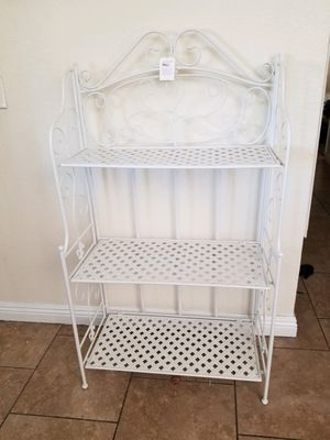 New metal sheshelve stand 4 feet tall 26 inches wide for Sale in Fontana, CA