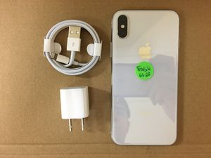 iPhone x 64gb T-Mobile,T mobile, Metro pcs,Simple mobile for Sale in Dallas, TX