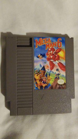 Mega man 6 nes for Sale in Seattle, WA