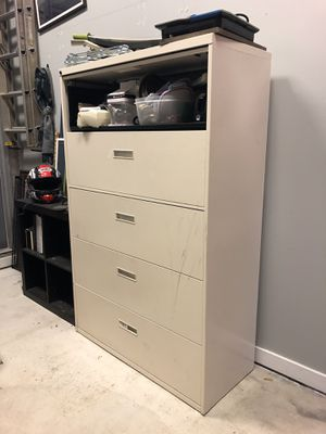 5 door filing cabinet for Sale in Detroit, MI