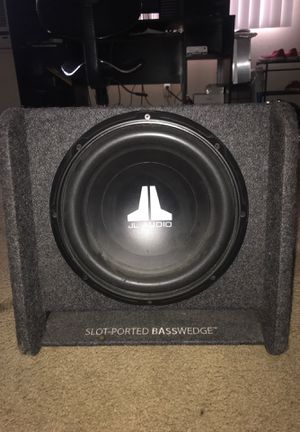 JL audio - CP112 W0v3 Series BassWedge Enclosed Subwoofer System bass subwoofer sub speaker Audio for Sale in Burbank, CA
