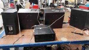 4x JBL 8330 cinema surround speakers + Marantz SR7200/U1B 6.1 reciever for Sale in Orange, CA