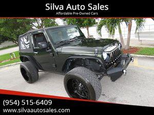 2010 Jeep Wrangler for Sale in Pompano Beach, FL