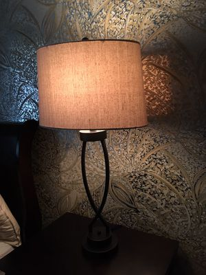 2 lamps with shades for Sale in Fairfax, VA