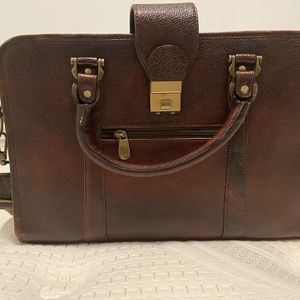 Genuine leather messenger bag for Sale in Portland, OR