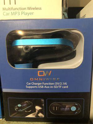 Omniwire Car FM Transmitter for Sale in Harrisburg, PA